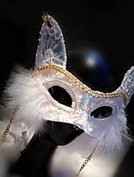 Венеция стиль кошка кружева / вышивать особый случай / этап маска