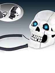 brilhantes olhos crânios aparelho telefônico brinquedos da novidade