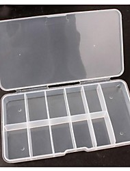 1 PCS 11 Cell Empty Storage Box Case False Nail Art Set Tips