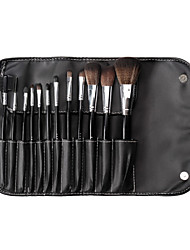 12 Makeup Brushes Set Nylon / Pony / Weasel / Synthetic Hair / Horse Face / Lip / Eye Others