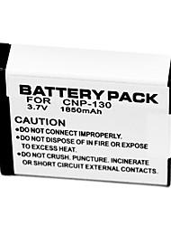 1850mAh batteria della fotocamera digitale NP-130 per Casio EXILIM EX-H30 ex-ZR100