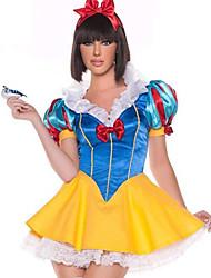 Classica White Snow Princess Terylene Hallewoon Costume