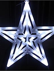 LED String Light 1 Light Modern Star Shape White Plastic 220V