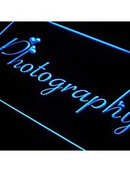 M038 photography signo de la luz de neón