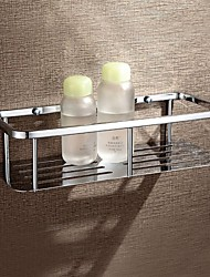 HPB™ Contemporary Chrome Finish Brass Wall Mounted Shower Baskets
