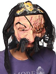 Scar Eye Pirates Latex Mask for Halloween Party(1 Pc)
