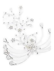 Gorgeous Rhinestones/Imitation Pearls Wedding Bridal Combs