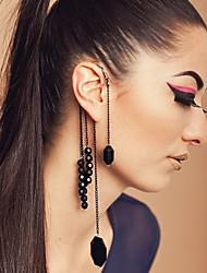 déclaration vintage lala femmes brins long gland non percé suspendu boucles d'oreilles simples
