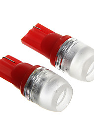 t10 1.5W vermelho lâmpadas led instrumento carro (dc12v, 2pcs)
