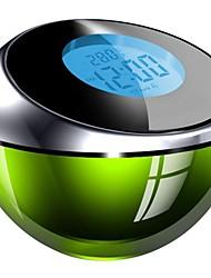 mais-coisa voz gyro colorido display de temperatura chronopher despertador