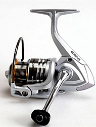Carrete de la pesca Carretes para pesca spinning RATIO: 5.1:1 for size 1000, 5.0:1 for size 2000 and 3000, 4.7:1 for size 5000. 11