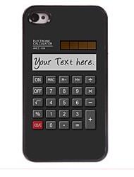 calculateur personnalisé cadeau conception du boîtier en métal pour iPhone 4 / 4S