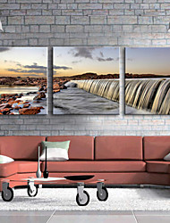 Canvas Art Landscape Grand Waterfall Set of 3