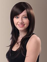 giovani parrucche diritte dei capelli frangia laterale lunga (più colori)