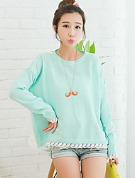 ICED™ Women's Fashion Bat Sleeve Candy Colors Pullover Sweater