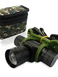 CREE Q5 LED zoom stradale in e fuori faro e luce per la bicicletta della bici escursioni a piedi in bicicletta camping
