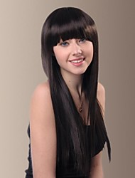 Sweet with Preppy Chic Long Straight Hair Wigs