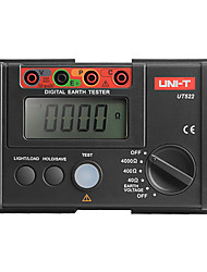 UNI-T UT522 Digital Earth Ground Resistance Tester Lightning Rod Lightning Detector Low Tester
