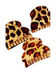 acryliques de rayure de léopard griffes petits cheveux