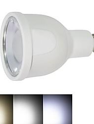 gu10 dimmable 4W 12x5730smd 2700 ~ 6500k 220lm blanc chaud à la lumière blanche froide Ampoule LED spot (ca 86 ~ 265V)
