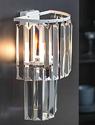 mini antorcha de pared 1 luz moderna forma de cilindro de metal 220v pintura