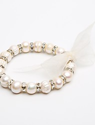 The diameter of 1cm Pearl Bracelet