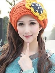 chapéu de lã dupla das mulheres