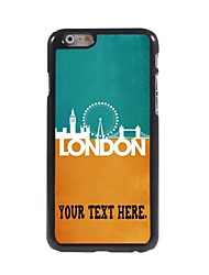 Personalized Case London Metal Case for iPhone 6 Plus