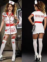 enfermeiras zumbis loucos adulto traje das mulheres halloween