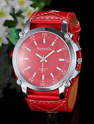 Women's Watch Fashion Big Round Dial