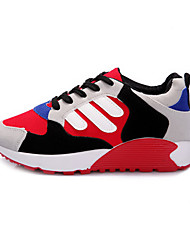 Chaussures femme ( Bleu/Rouge/Gris ) - Velventine - Marche