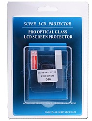 Professional LCD Screen Protector Optical Glass Special for Nikon D80 DSLR Camera