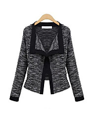 Fashion Long Sleeve Fitted Blazer