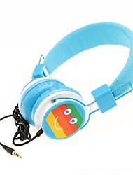 wzs- ergonomische hallo-Fi-Stereo-Kopfhörer mit Mikrofon Mikrofon - blau