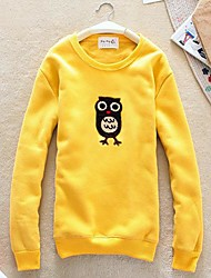 hibou mignon sweats modèle de velours de meroketty®women