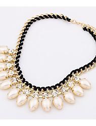 Masoo Women's Fashional Pearl Necklace