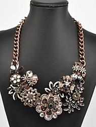 Women's Flower Pattern Necklace