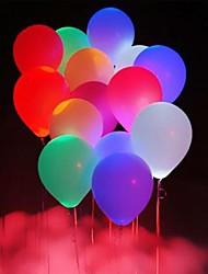 10pcs conduit balloms (couleur aléatoire)