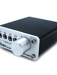 vier en uit audio switcher headset switch mp3 switch audio switcher audio switch muziek klinkt hi-fi geluid