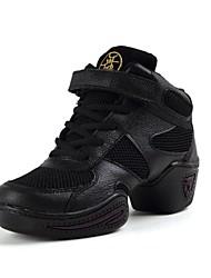 Женская обувь - Кожа - Номера Настраиваемый (Черный) - Джаз
