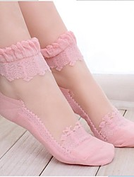Women's Lace Perspective Socks
