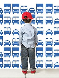 stickers muraux autocollants de mur, les enfants automobile voiture pvc stickers muraux