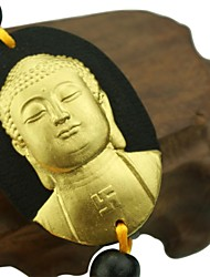 HONORV™ KA-TD-02 Activated Carbon Carving Products -- Shakya Muni Buddha Car Ornaments(with Independent Certificate)
