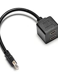 haut hdmi à 2 scission hdmi câble Y * (30,5 cm)