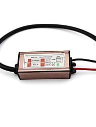 ac dc 85-265v a 20-45v convertidor de tensión llevada impermeable 1x10W con carcasa de aluminio
