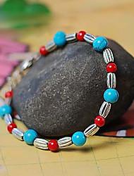 Suofeiya National Style Coral Tibet Style Beads Bracelet_s17 Screen Color
