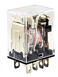 dpdt eletromagnético relé de energia ac 220v bobina 10a 240vac 28VDC delixi elétrica JQX-13f2z