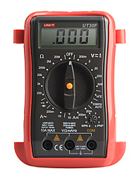 UNI-T UT30F УТ-30F Карманные LCD Цифровые мультиметры AC DC Вольт Ампер Ом тестер