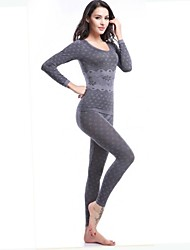 Women's Thin Sexy Seamless Winter and Autumn Thermal Underwear