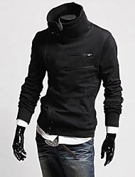 tutti collo alto fiammifero maglione di colore solido termico